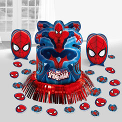 centre de table spiderman