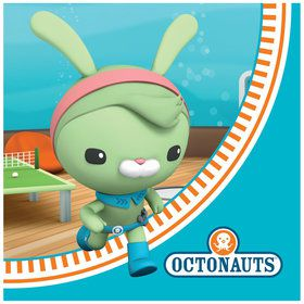 16 serviettes octonauts
