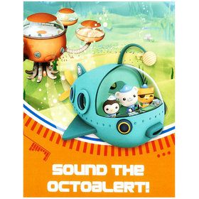 20 cartes d'invitation octonauts