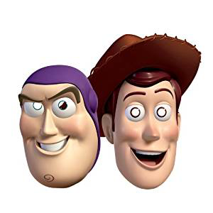 6 masques toy story