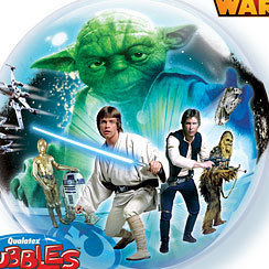 ballon star wars bubble 56cm