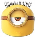 masque minion egyptien