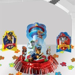 centre de table paw patrol