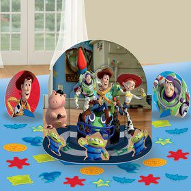 3 centres de table toy story
