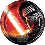 8 assiettes star wars the force