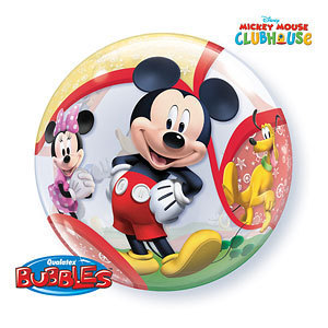 ballon bubble mickey 56cm