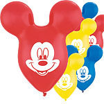 25 ballons mickey latex
