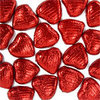 20 chocolats coeur rouge