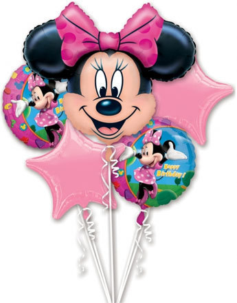bouquet de ballon minnie