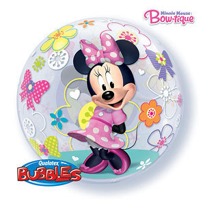 ballon bubble minnie