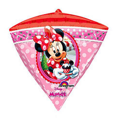 ballon minnie diamant 61cm