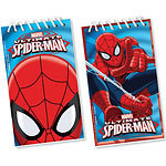 12 carnets spiderman