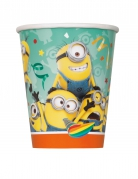 8 gobelets minion orange