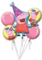 bouquet de ballon peppa pig