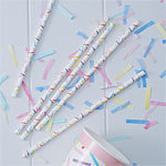 25 pailles so chic confettis