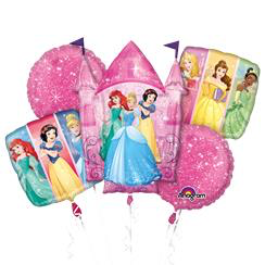 bouquet de ballon princesse disney