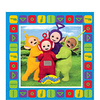 16 serviettes teletubbies