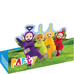 8 cartes d'invitation teletubbies