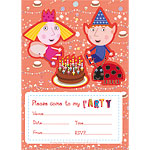 6 invitations ben et holly