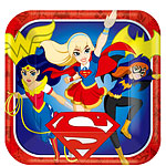 8 assiettes supergirl