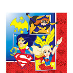 16 serviettes supergirl