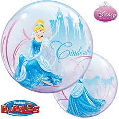 ballon bubble cendrillon