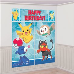 décoration murale pokemon