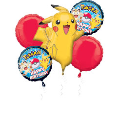 bouquet de ballon pokemon