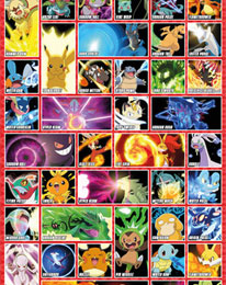poster pokemon moves