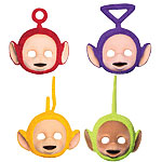 4 masques teletubbies