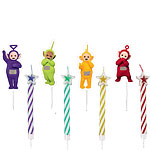 8 bougies teletubbies