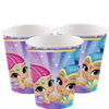 8 gobelets shimmer and shine
