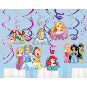 12 suspensions princesse disney