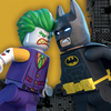16 serviettes Lego batman