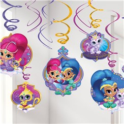 12 suspensions shimmer and shine