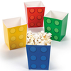12 boites pop corn block party