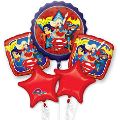 bouquet de ballon supergirl