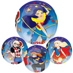 ballon bubble supergirl 63cm