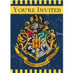 8 invitations harry potter