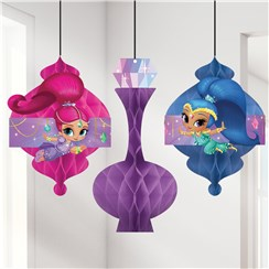 3 suspensions shimmer and shine