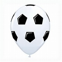 25 ballons latex football