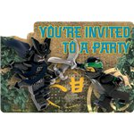 8 invitations ninjago