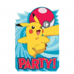 8 cartes d'invitation pokemon 2