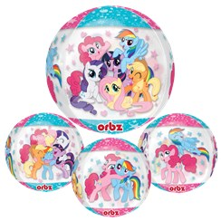 ballon bulle petit poney