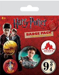 5 badges harry potter