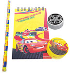 set de papeterie cars 5 enfants