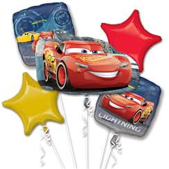 bouquet de ballon cars