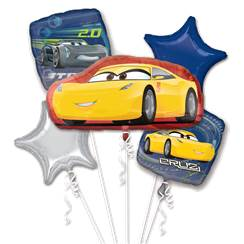 bouquet de ballons cars