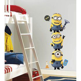 sticker mural minion