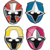 8 masques power rangers